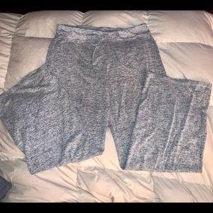 Juniors Med grey tweed lounge pants